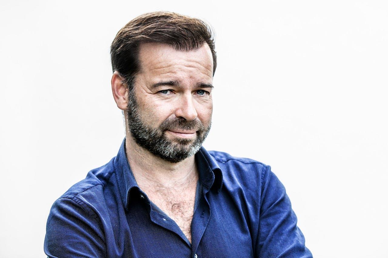 Presentator en RTL-programmadirecteur Peter van der Vorst.