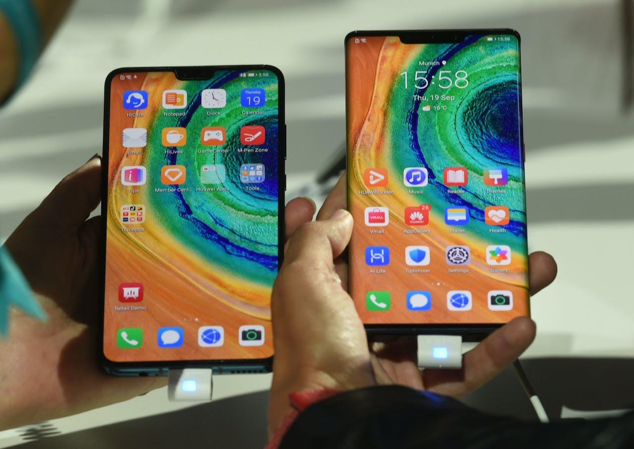 Huawei's nieuwe Mate 30 Pro