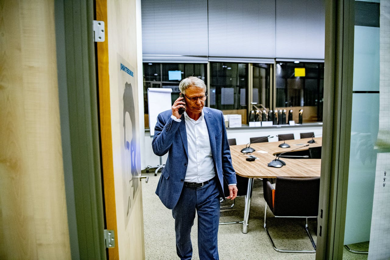Han Busker, voorzitter van de FNV