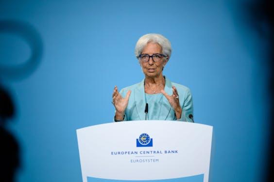 ECB-baas Christine Lagarde