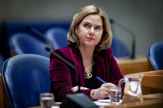 Minister Cora van Nieuwenhuizen (VVD)