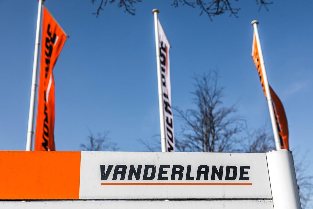 Het exterieur van Vanderlande in Veghel.