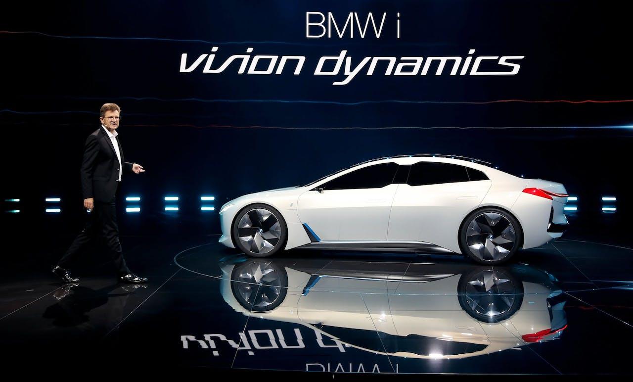 Presentatie van de BMW i Vision Dynamics tijdens de IAA 2017