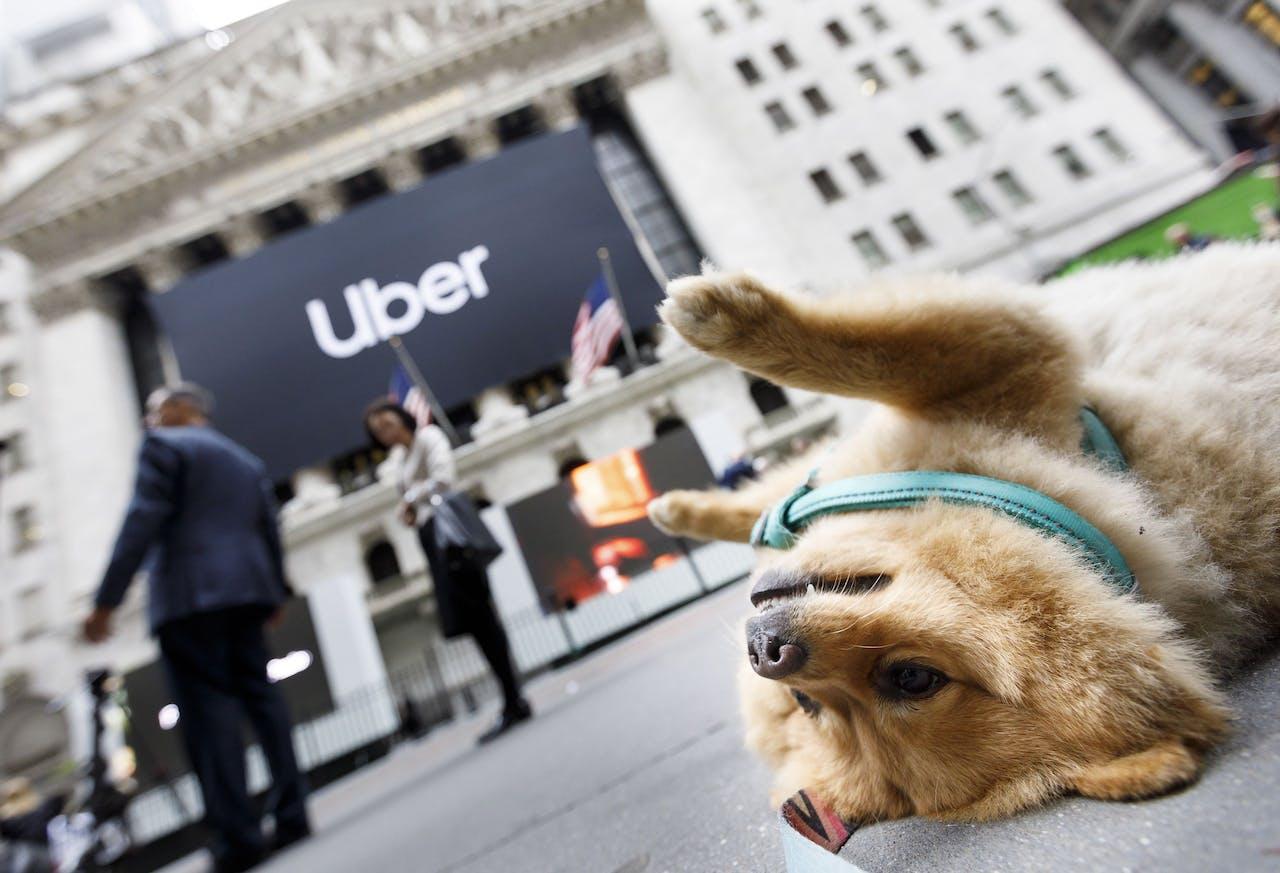 Uber zette Wall Street vandaag behoorlijk op zijn kop