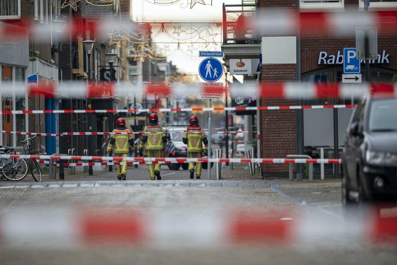 In Aalsmeer is een verdacht pakket bij een Poolse supermarkt aangetroffen.