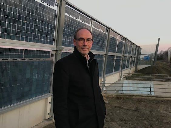 TNO-hoofdonderzoeker zonne-energie Wim Sinke