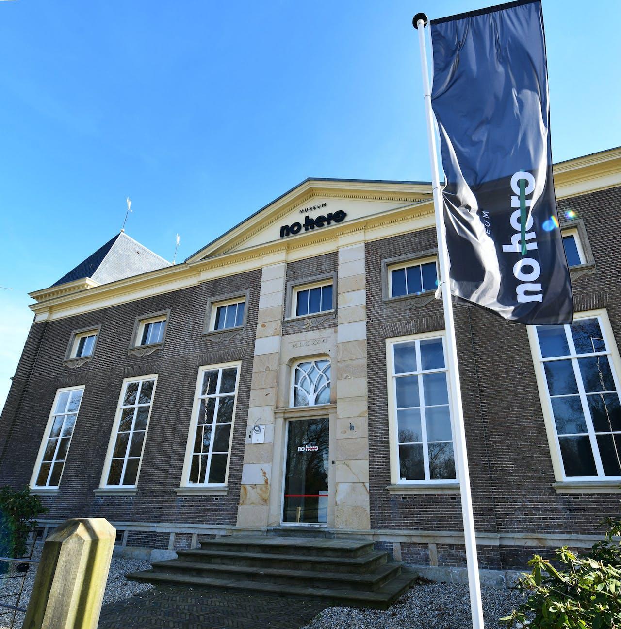 Het nieuwe No Hero museum in Twente.