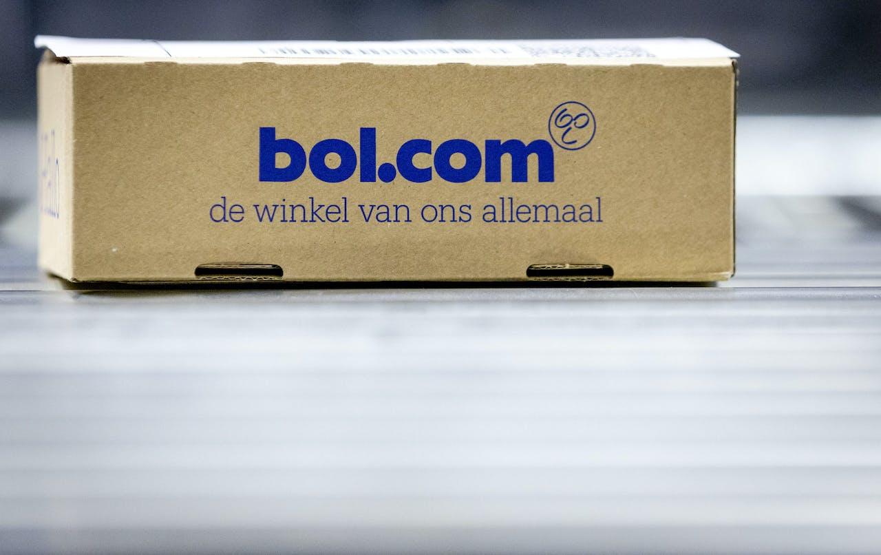 Pakket in het distributiecentrum van bol.com.