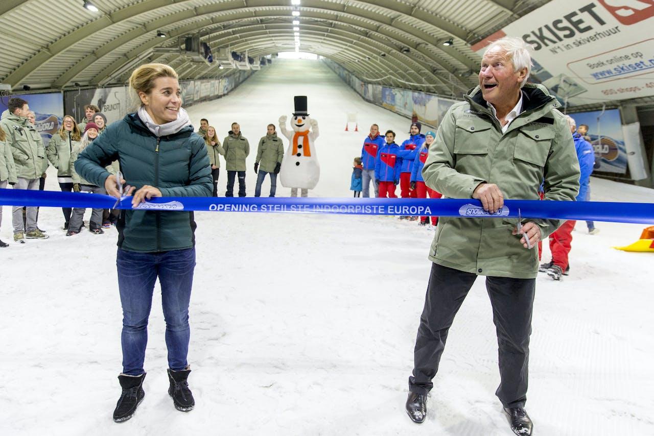 Topman Koos Hendriks en Nicolien Sauerbreij