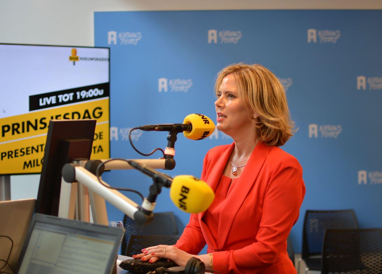 Minister van Infrastructuur en Waterstaat Cora van Nieuwenhuizen van de VVD