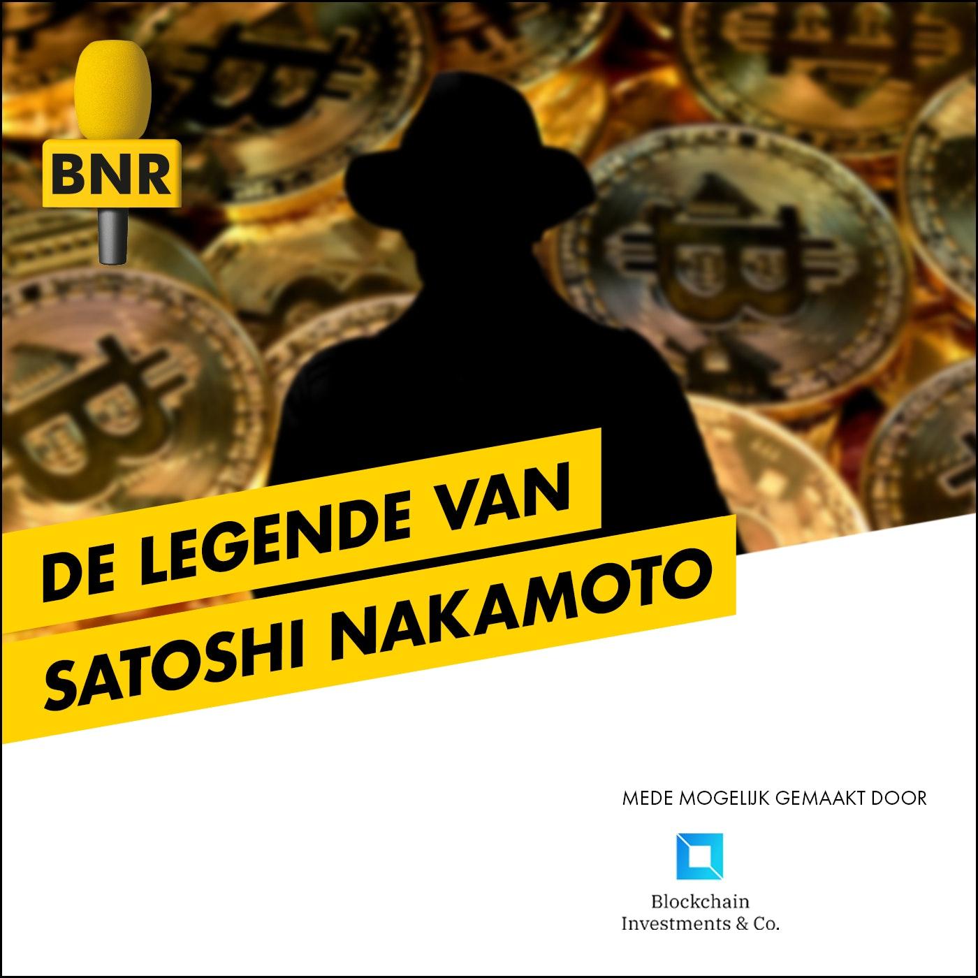 De Legende van Satoshi Nakamoto | BNR logo