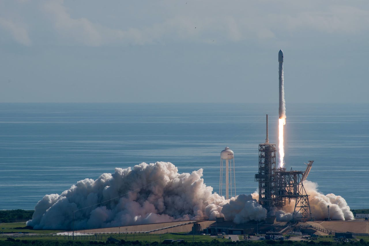 Falcon 9-raket van SpaceX