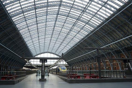 Eurostar trein in Londen