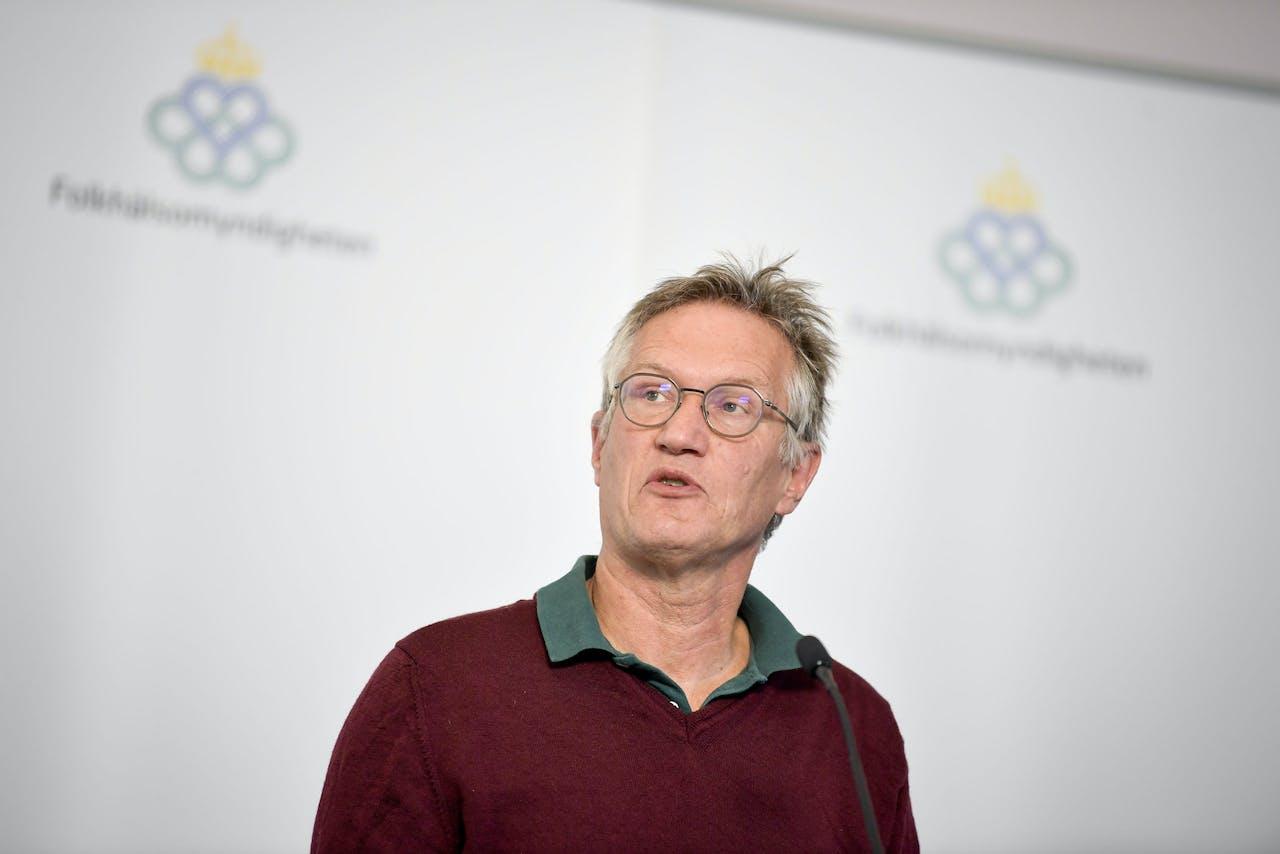 'Staatsepidemioloog Anders Tegnell