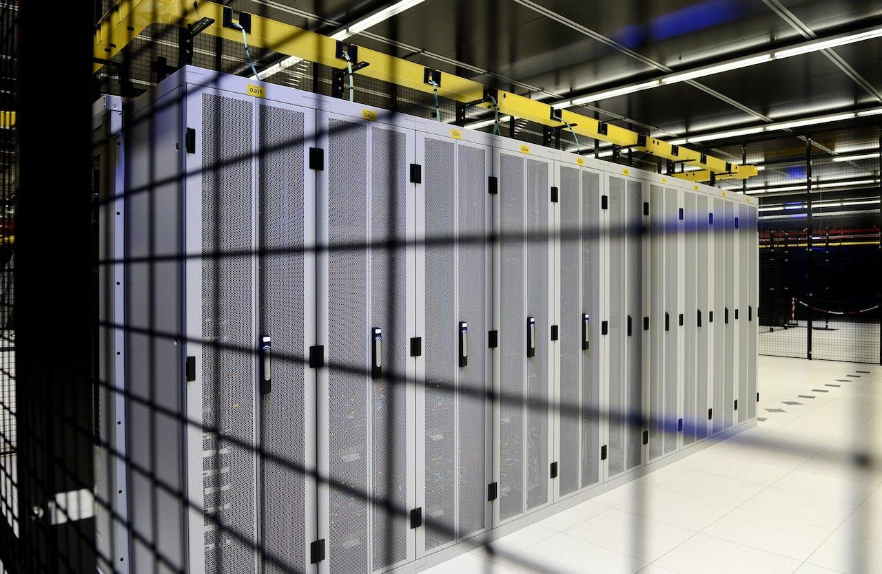 Servers van de Rijksoverheid bij Equinix.