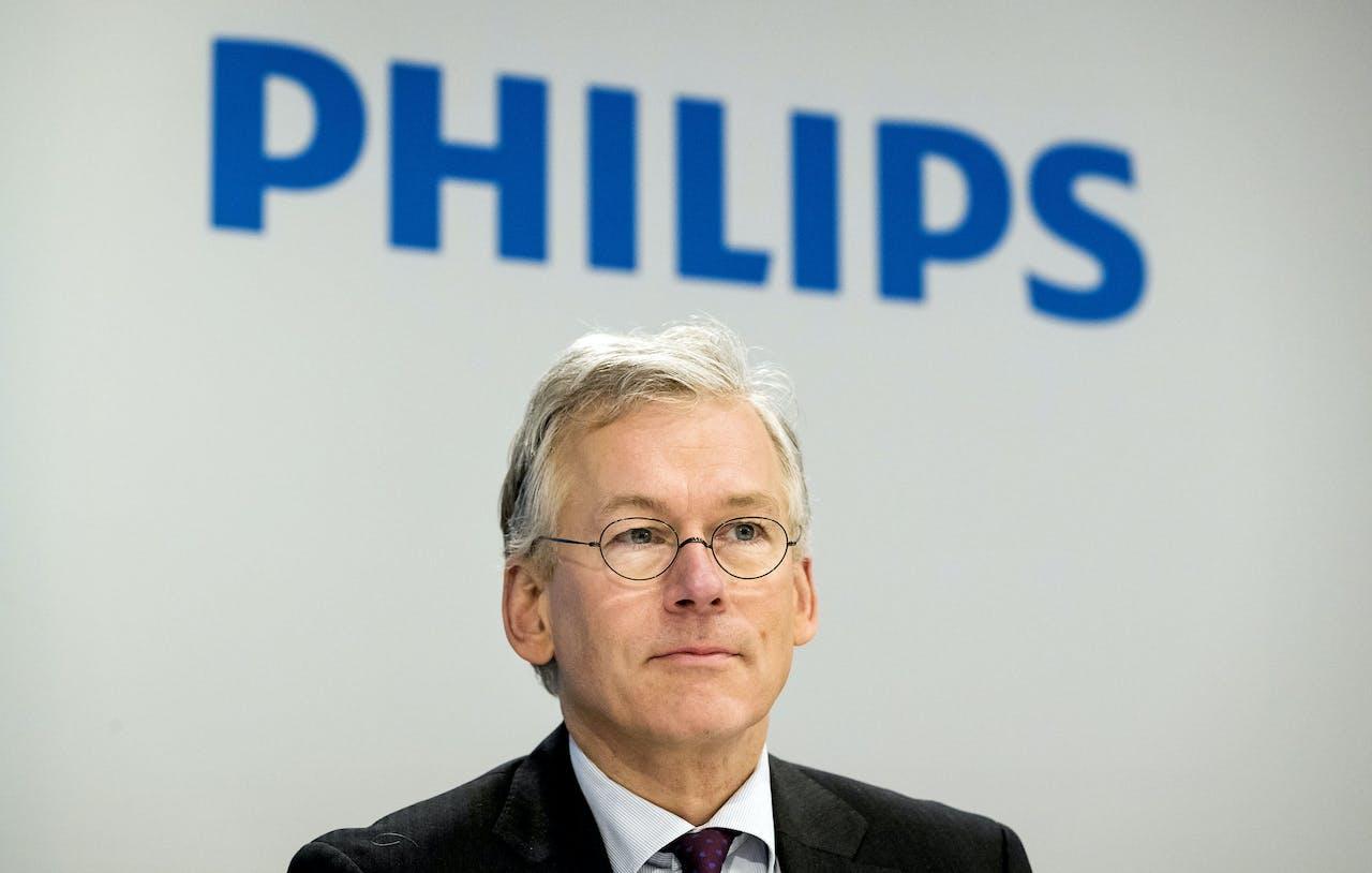 Philips-CEO Frans van Houten ANP KOEN VAN WEEL