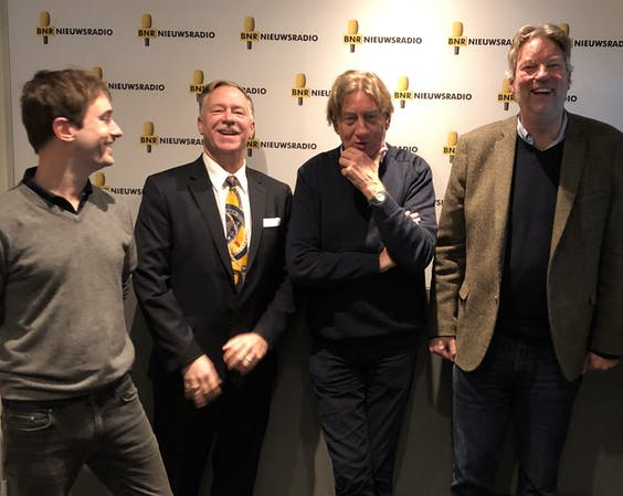 VLNR: Hugo Reitsma, Glenn Schoen, Rob de Wijk, Arend Jan Boekestijn