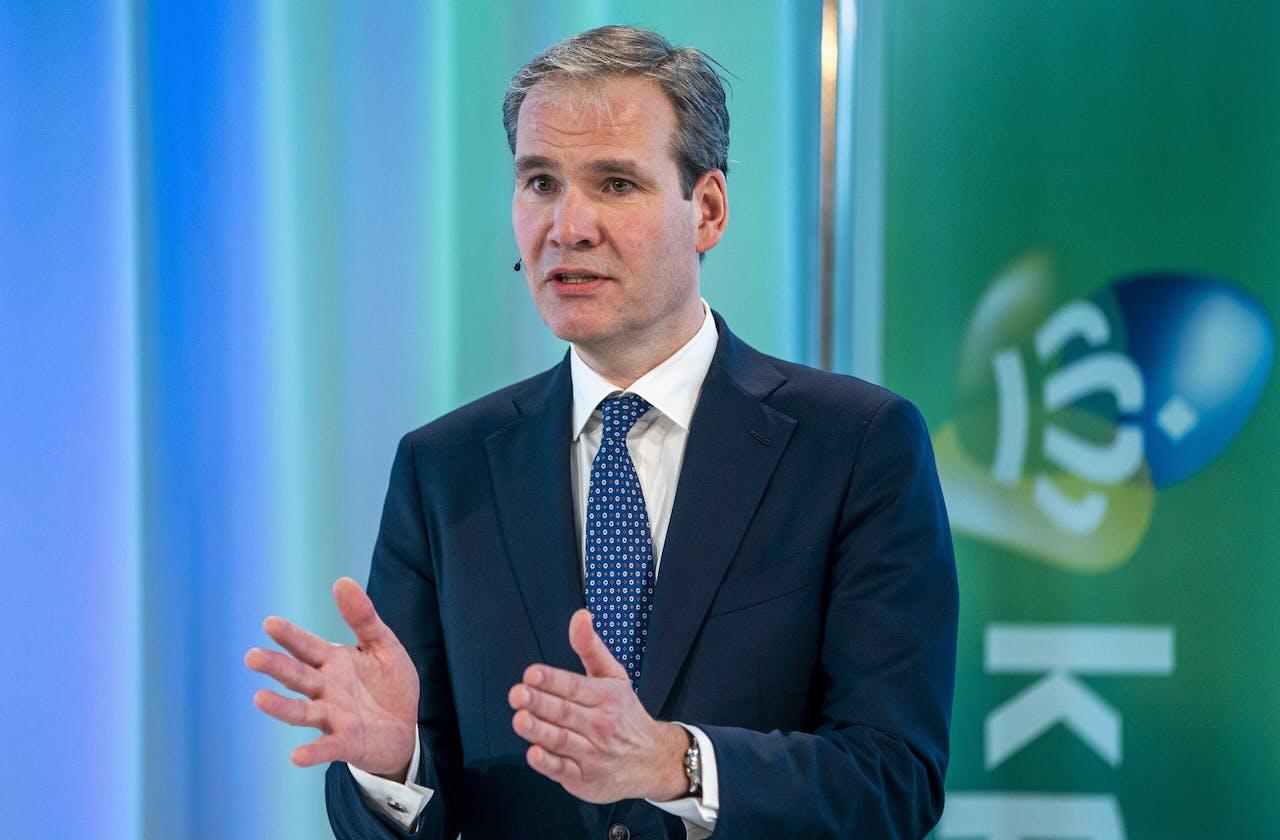 Joost Farwerck, CEO van KPN