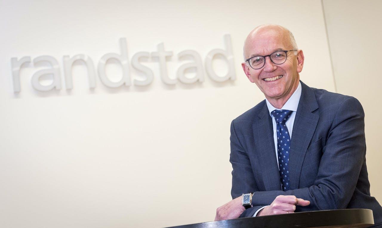Jacques van den Broek CEO van uitzendbureau Randstad.