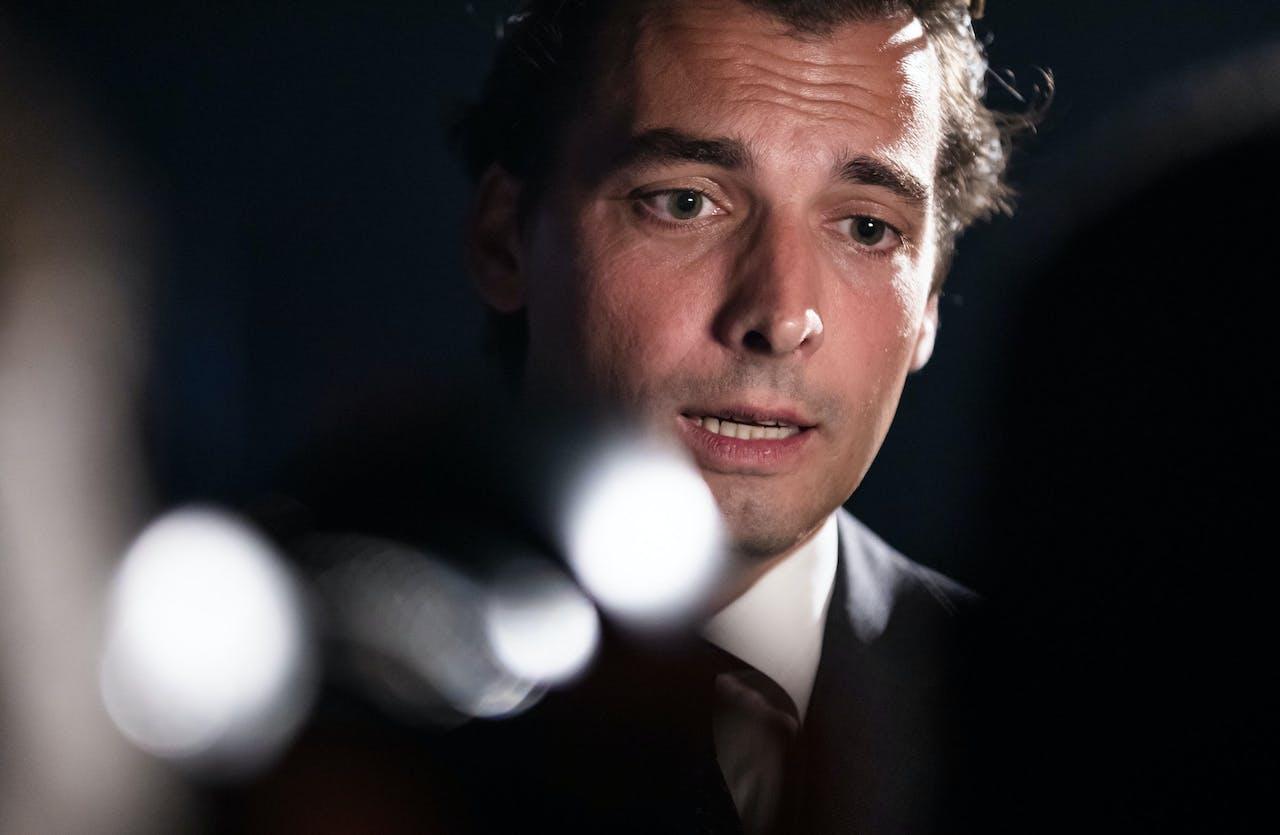 Thierry Baudet (FvD) wil onderhandelen met kabinet, maar niet over Klimaatbeleid.