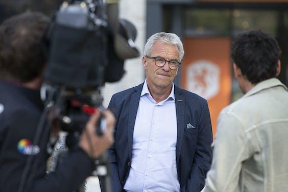 KNVB-baas Eric Gudde