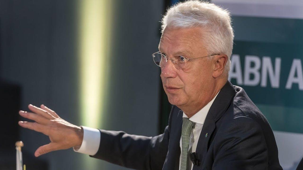 CEO Kees van Dijkhuizen van ABN AMRO