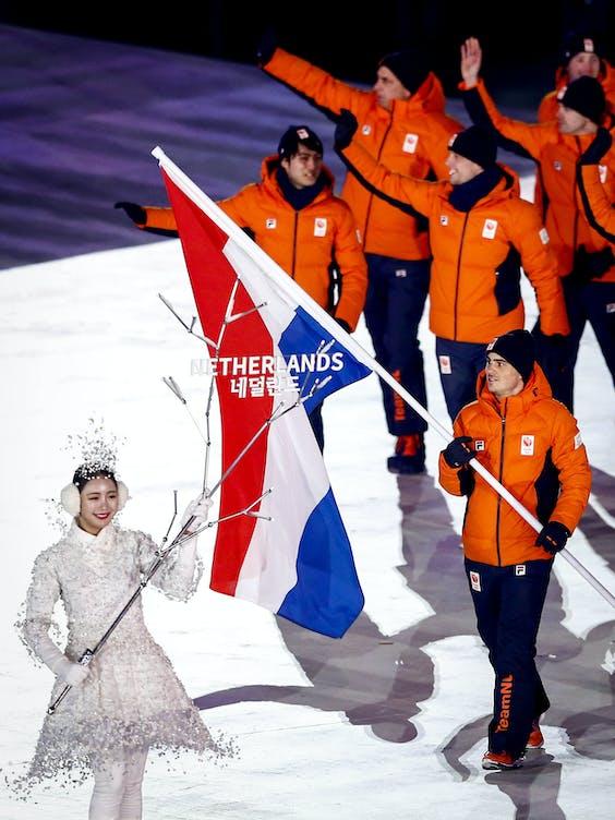 De Olympische Winterspelen van Pyeongchang in 2018.