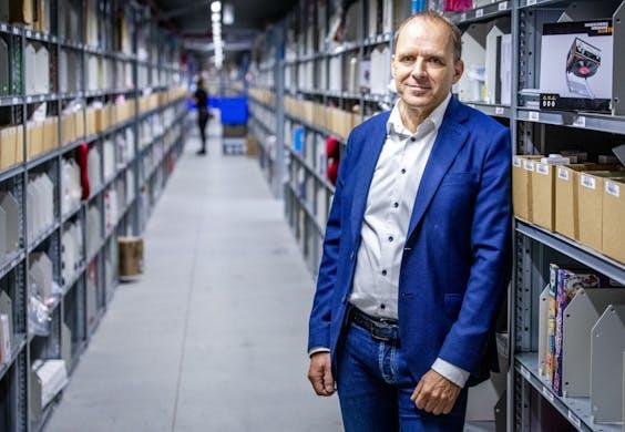 Huub Vermeulen, algemeen directeur van bol.com.