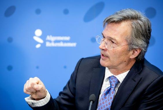 President Arno Visser van de Algemene Rekenkamer