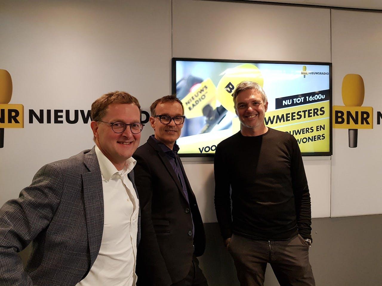 V.l.n.r.: Jaap de Koning, Marten Klein en Paul Laseur.