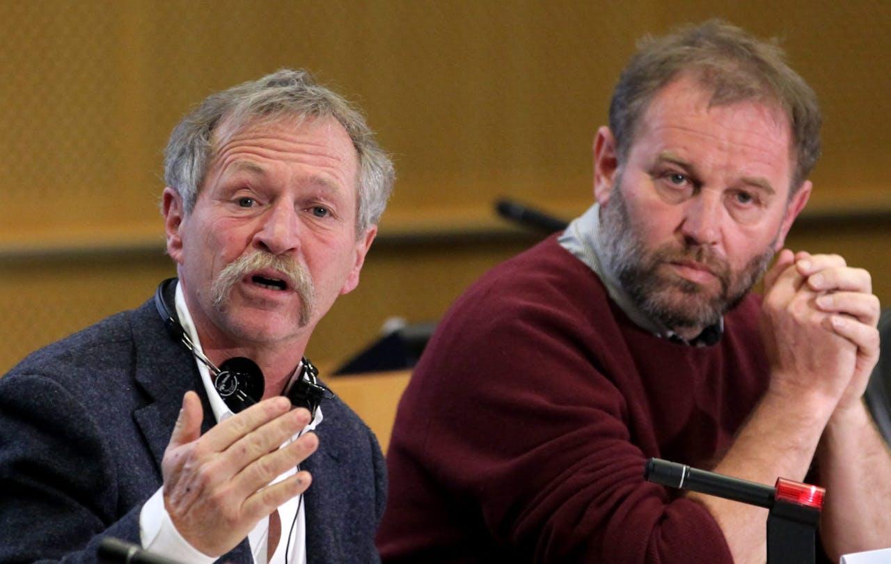 Bart Staes (rechts).
