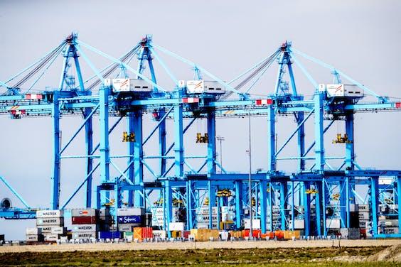 Containerterminals Rotterdam
