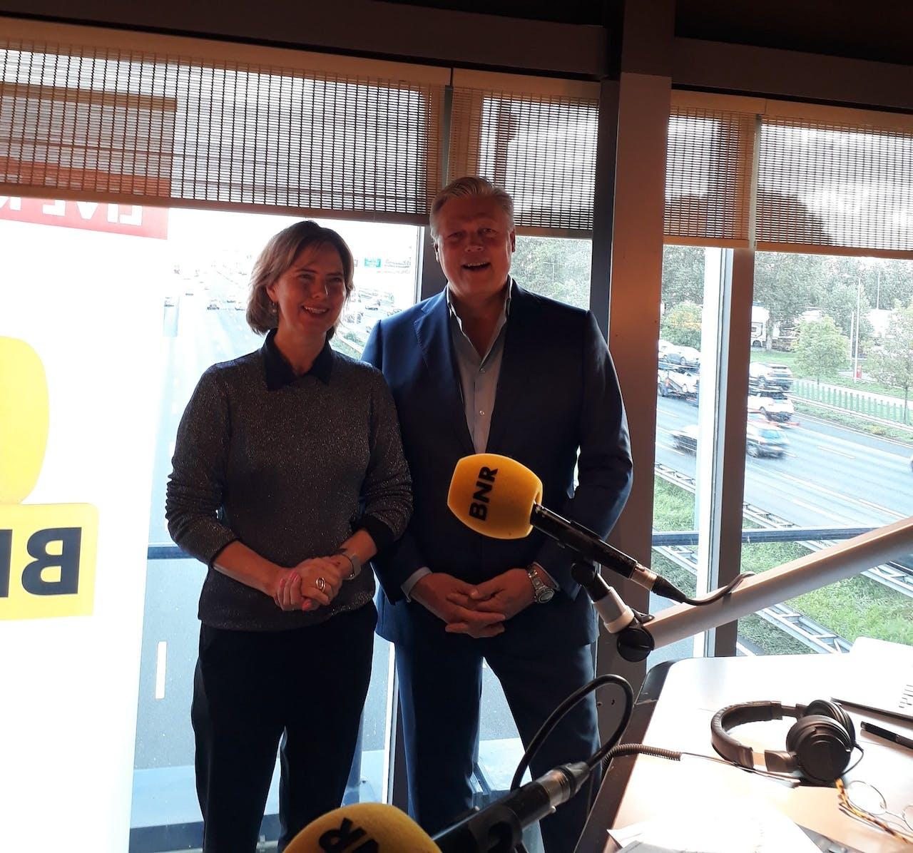 Roelof Hemmen & Cor van Nieuwenhuizen, minister van Infrastructuur en Waterstaat
