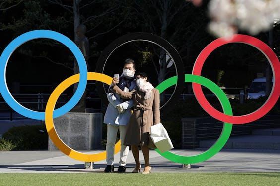 Het hoofdkantoor van het Japanse Olympisch Comité