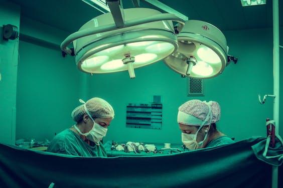 Ziekenhuispersoneel in tijden van corona