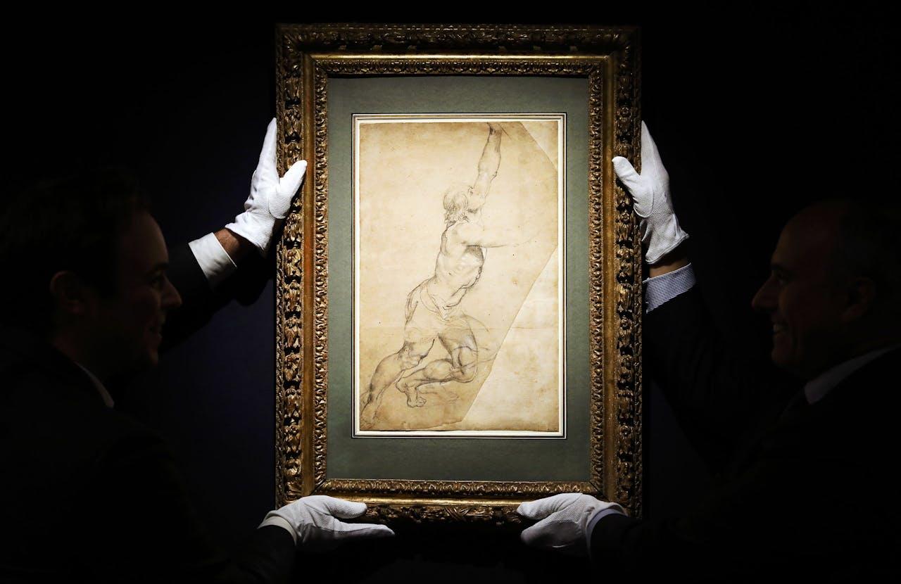 De tekening van Peter Paul Rubens
