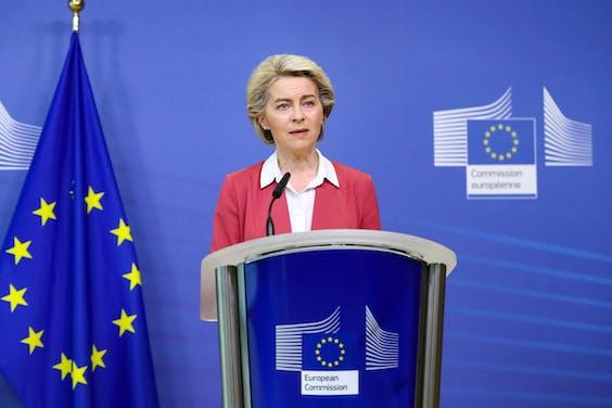 Europese Commissievoorzitter Ursula von der Leyen