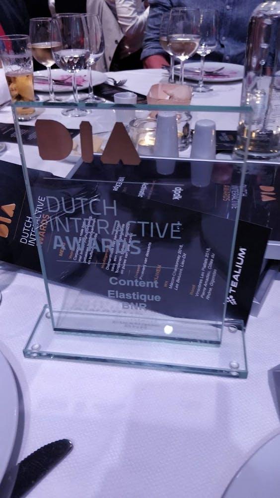 Dutch Interactive Award 2019 voor SMART Radio van BNR