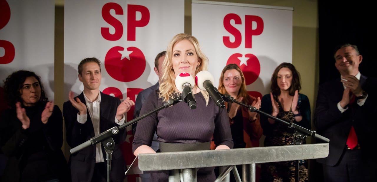 De nieuwe SP-leider Lilian Marijnissen
