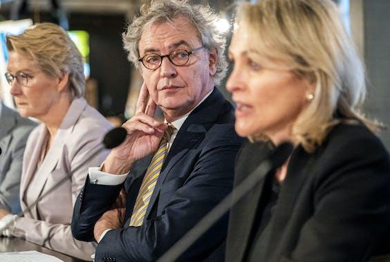 Roger van Boxtel en Marjan Rintel