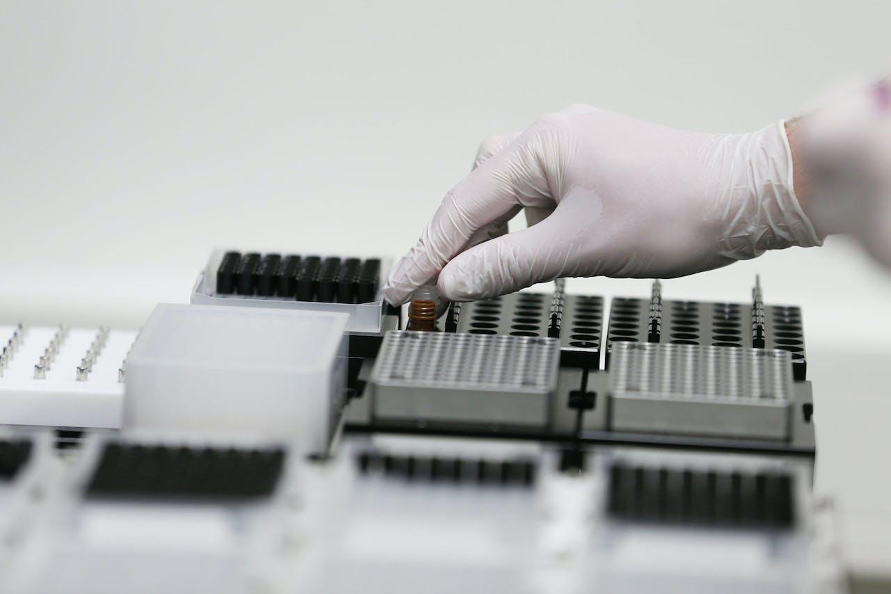 Materiaal om te testen op het coronavirus.