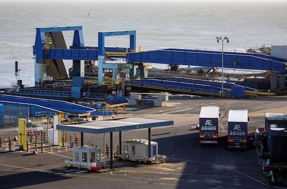 De haven van Ramsgate