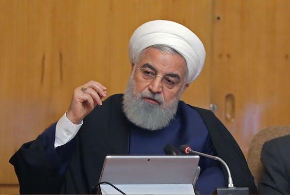 Hassan Ruhani, President Iran