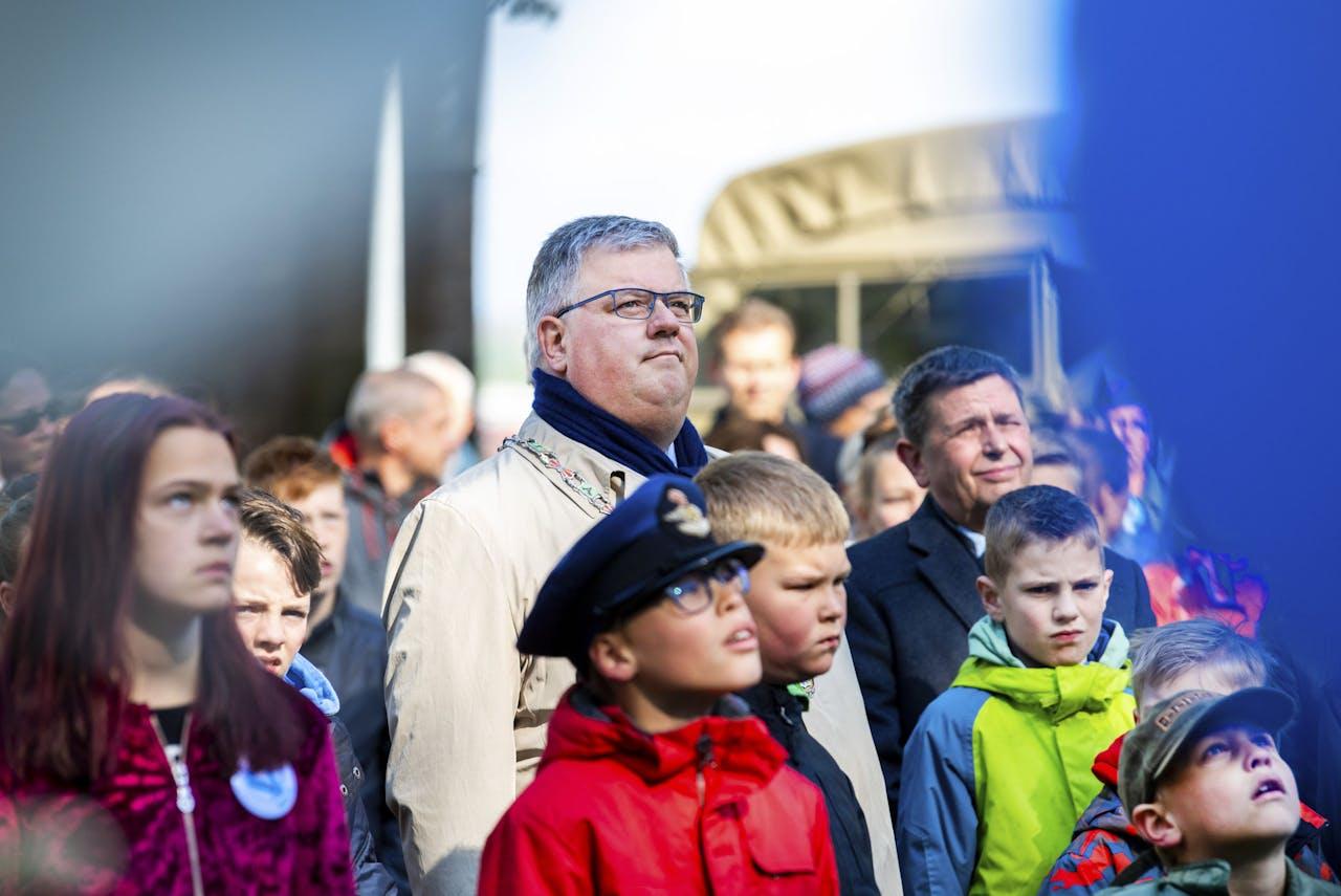 Burgemeester Hubert Bruls van Nijmegen
