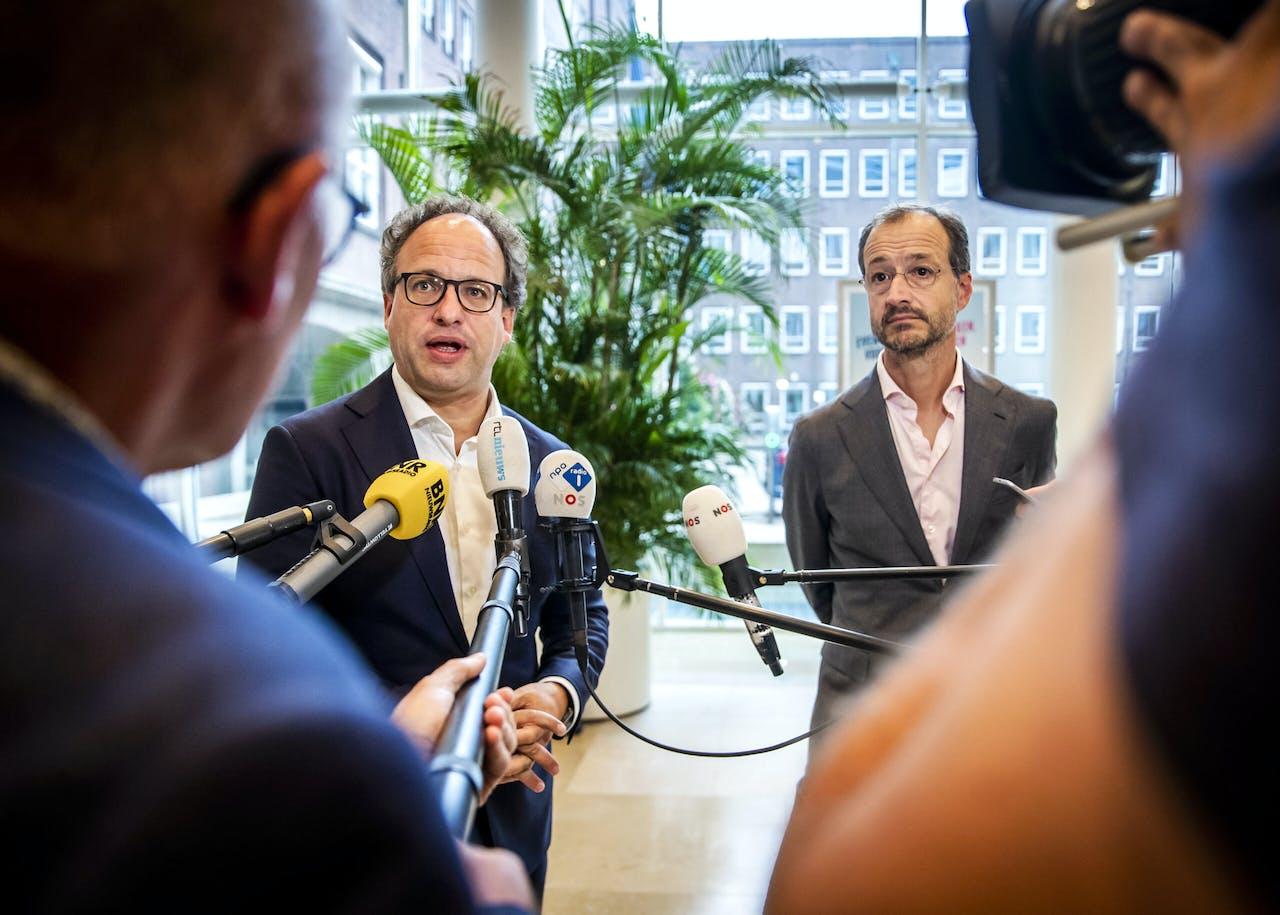 Wouter Koolmees en Eric Wiebes