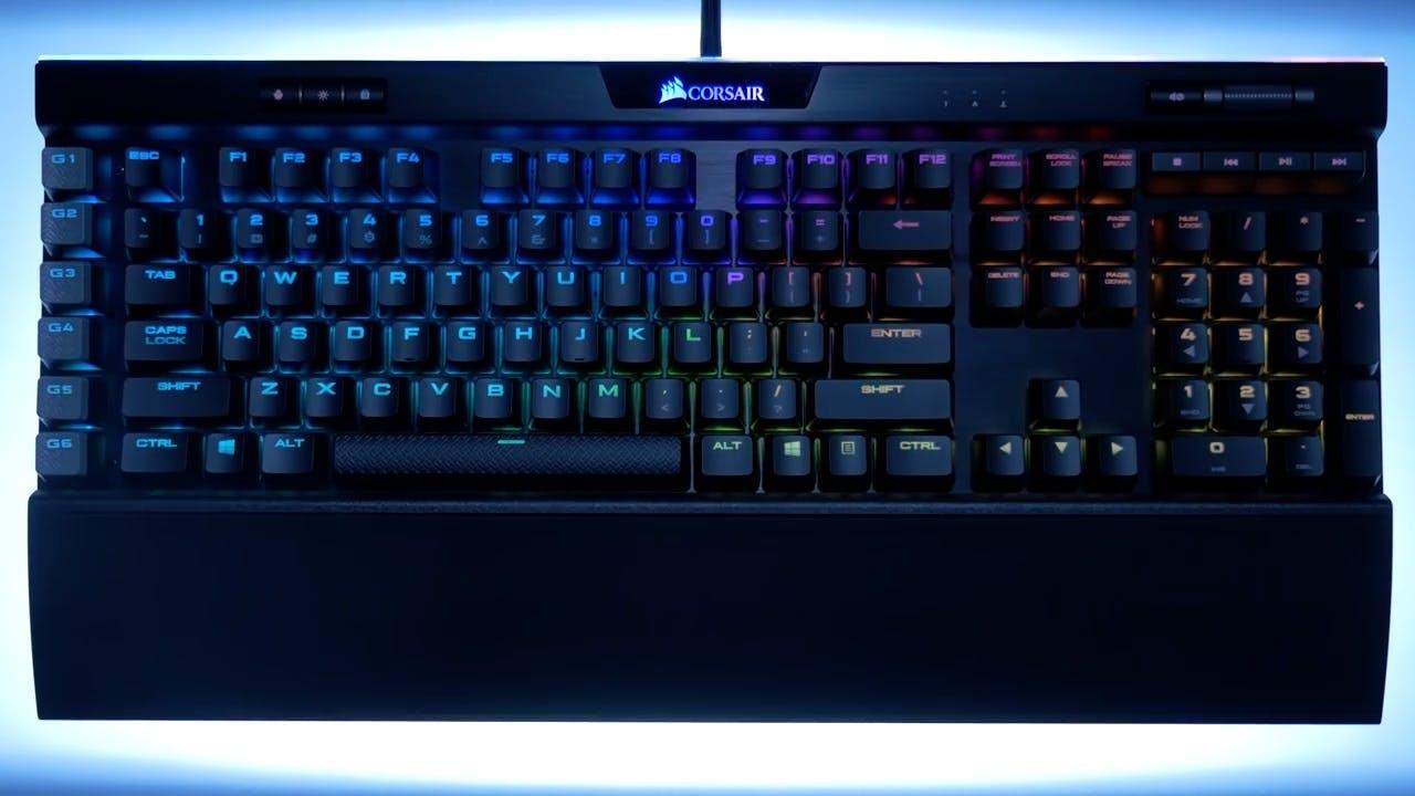 De Corsair K95 RGB
