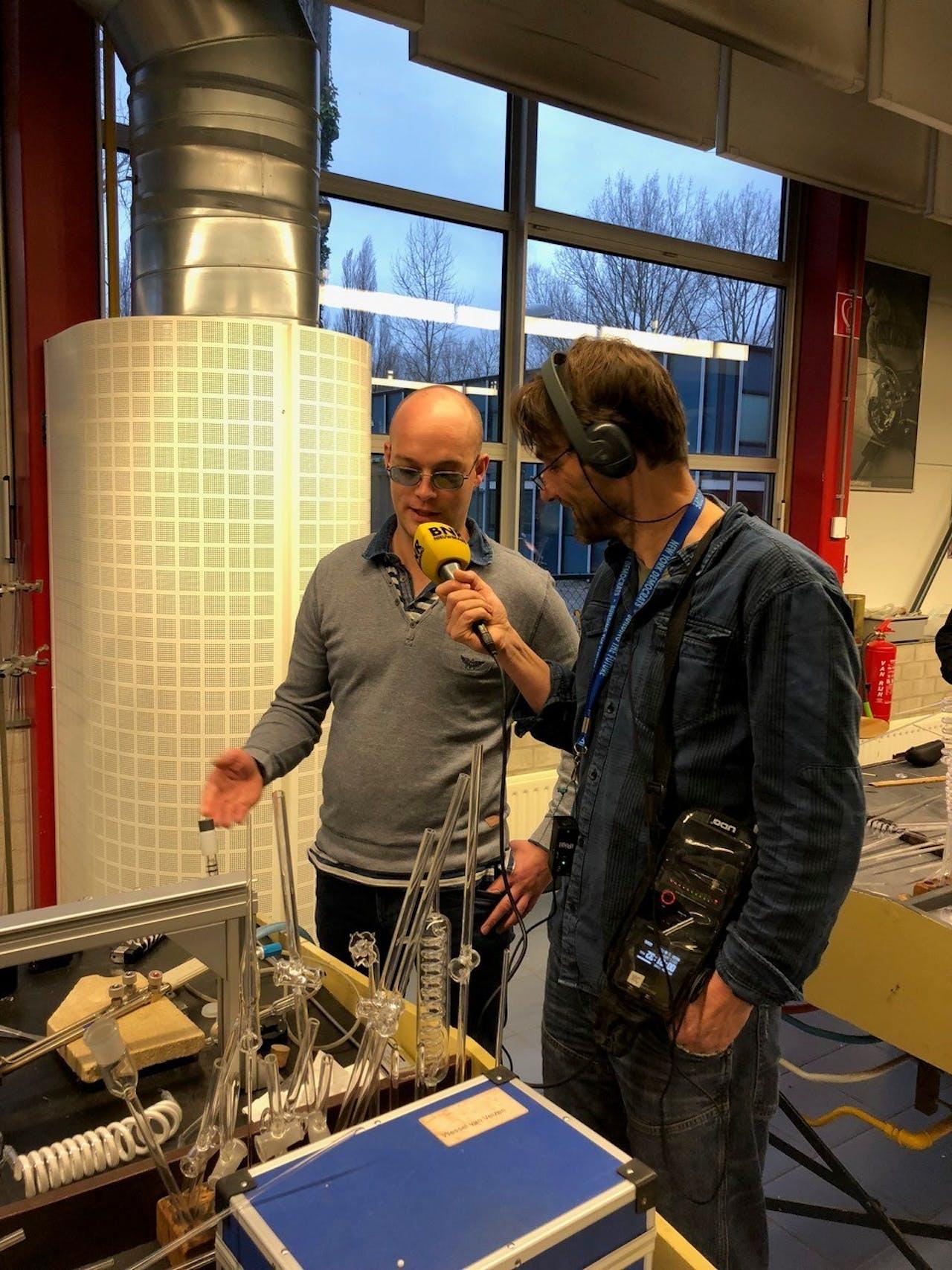 Verslaggever Martijn de Rijk bezoekt de Leidse instrumentmakers School (LiS)