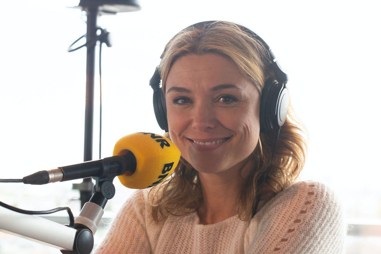 Evi Hanssen is vanmiddag de co-host