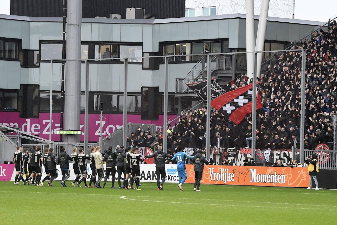 Stadion Galgenwaard in Utrecht.