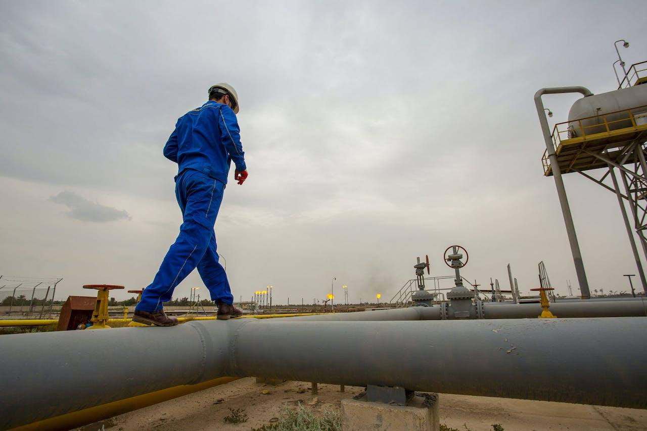Aardgasveld in Irak